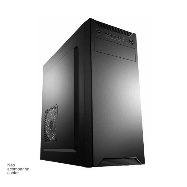 GABINETE 1 BAIA 3601 COM 2 USB | 1 USB 3.0 | AUDIO
