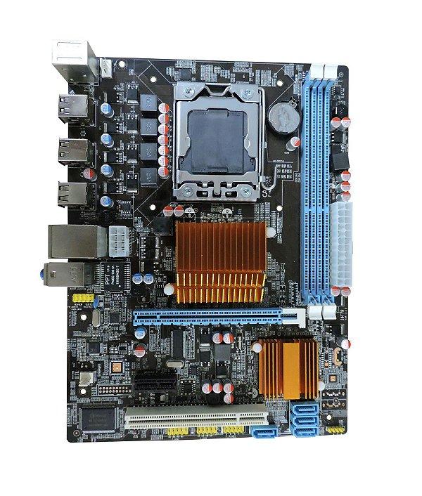 PLACA MÃE DESKTOP 1366 BPC-X58