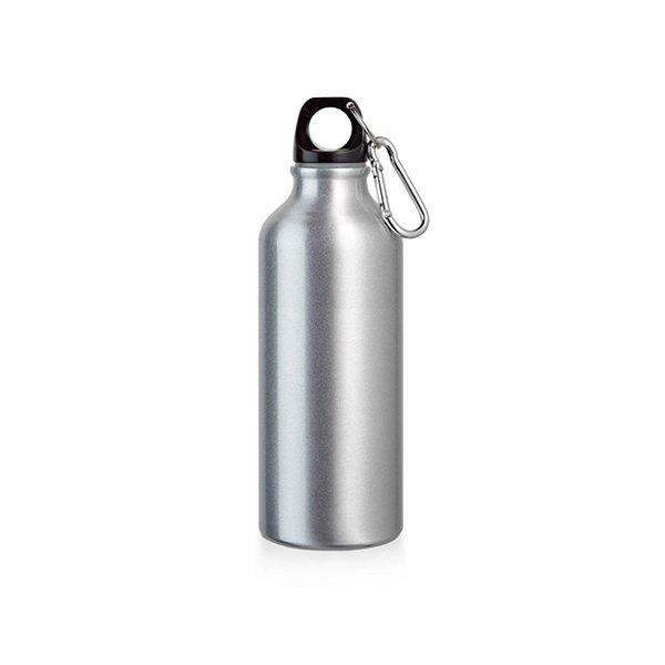 Garrafa Sqeeze Alumínio com Mosquetão 500 ML