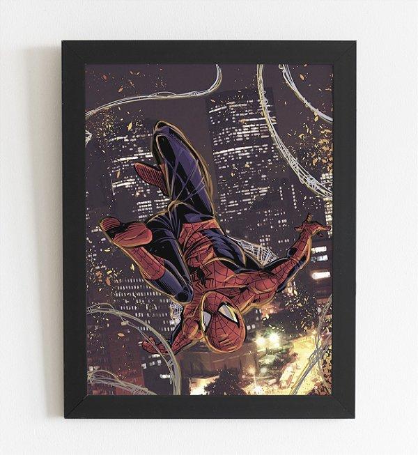 Quadro Decorativo Homem Aranha A3 (44x34cm)