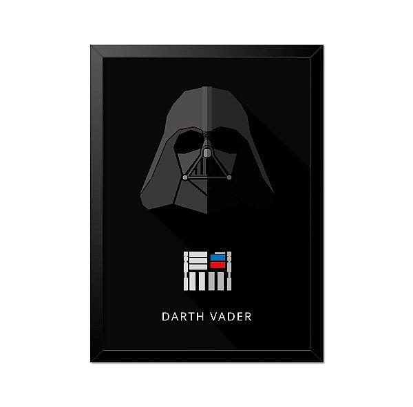Quadro Poster Star Wars Darth Vader 33x23cm
