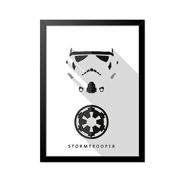 Quadro Poster Star Wars Stormtrooper 33x23cm