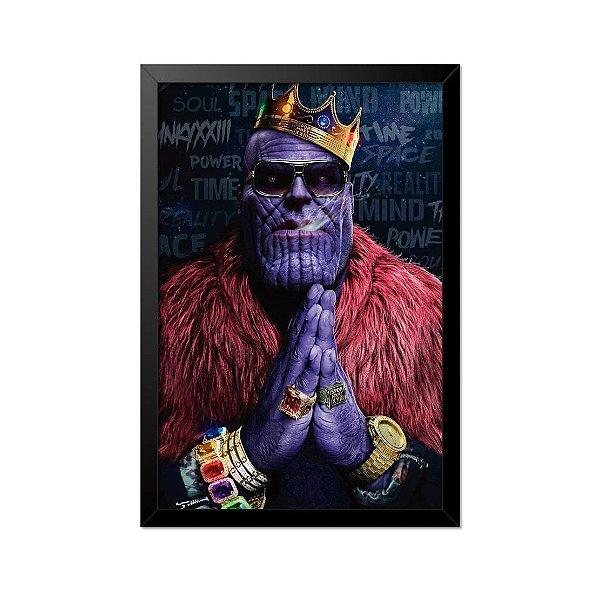 Quadro Poster Thanos 33x23cm