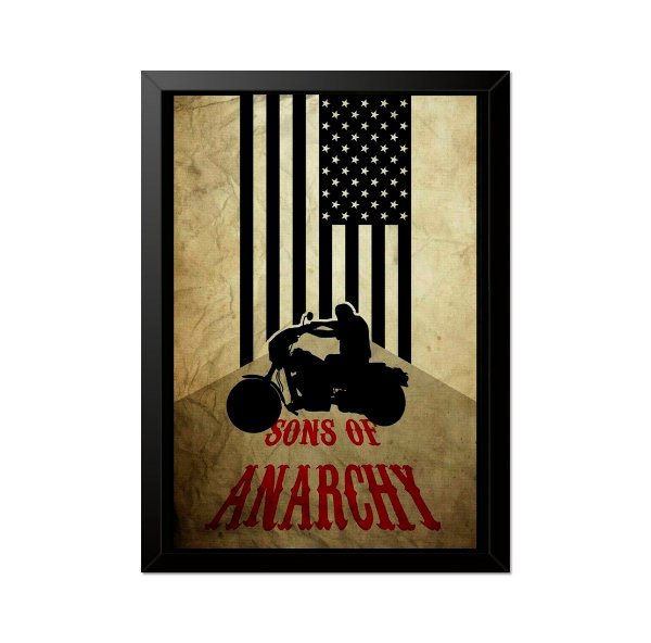 Quadro Poster Sons of Anarchy 33x23cm