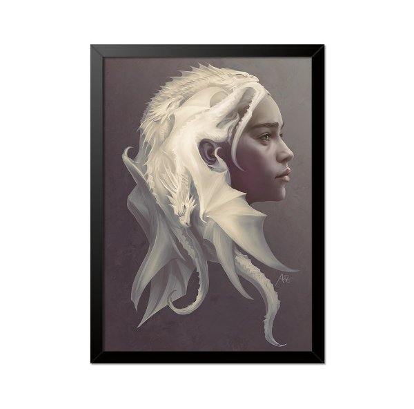 Quadro Poster Game of Thrones Daenerys 33x23cm