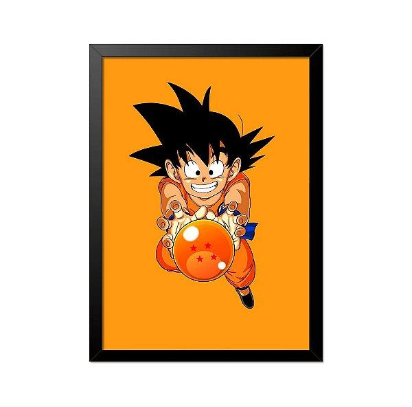 Quadro Poster Dragon Ball Z 33x23cm
