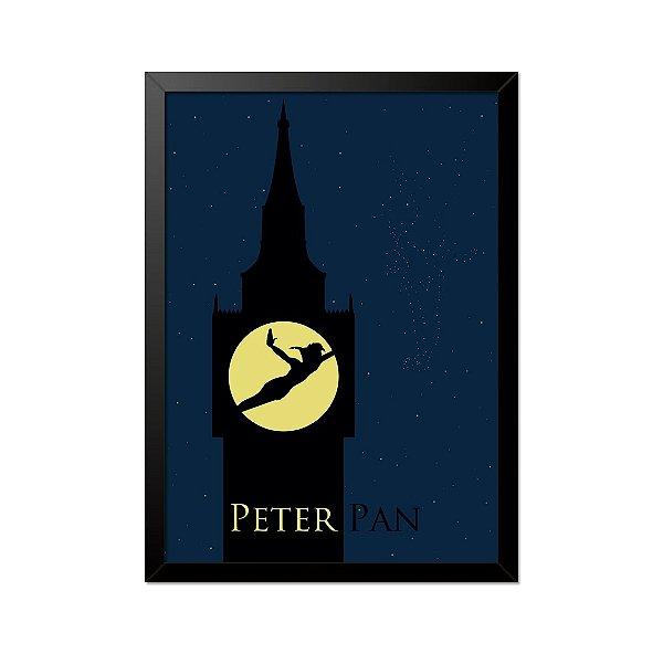 Quadro Poster Peter Pan 33x23cm