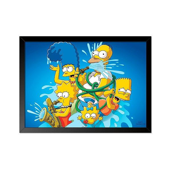 Quadro Poster Simpsons Mangueira 33x23cm