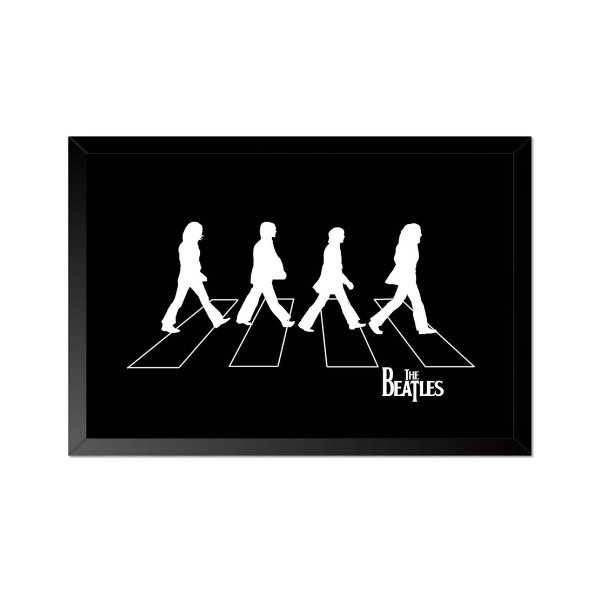Quadro Poster The Beatles Abbey Road 33x23cm