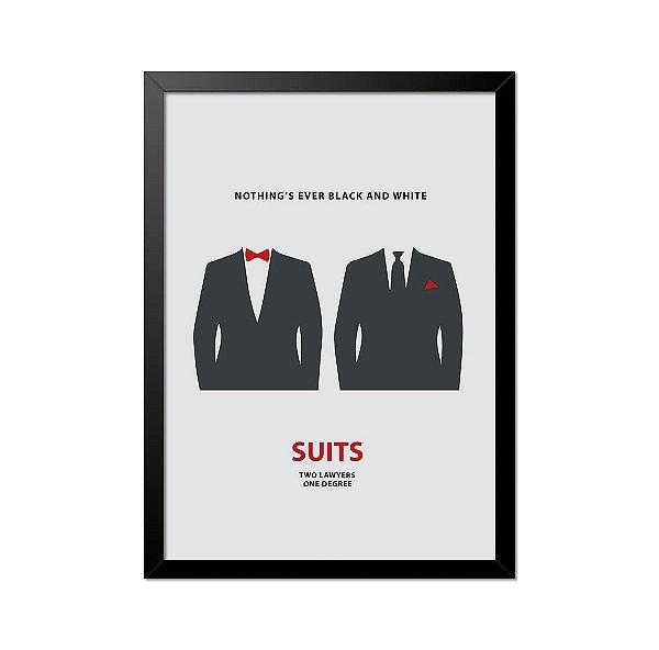 Quadro Poster Suits 33x23cm