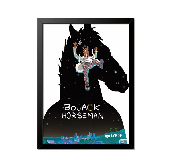 Quadro Poster Bojack Horseman 33x23cm
