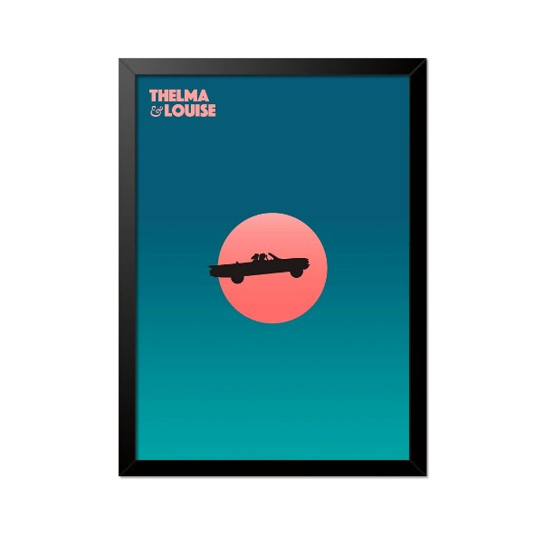 Quadro Poster Thelma e Louise 33x23cm