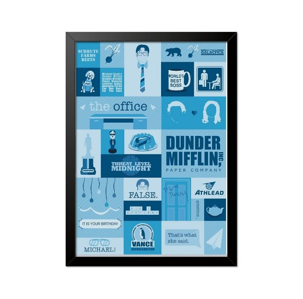 Quadro Poster The Office 33x23cm