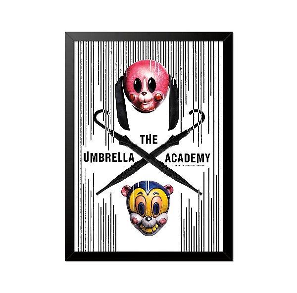 Quadro Poster The Umbrella Academy 33x23cm
