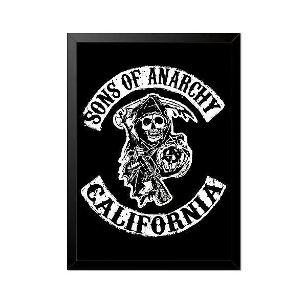Quadro Poster Sons of Anarchy Samcro 33x23cm