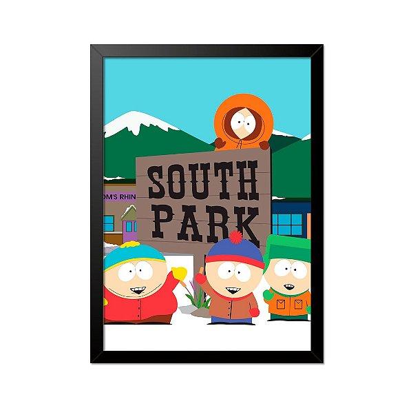 Quadro Poster South Park 33x23cm