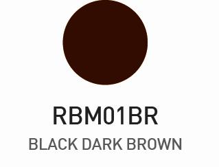 Rk Mascara para Sobrancelhas - Black Dark Brown