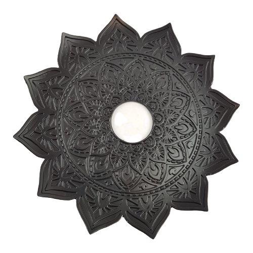 Prato Flowers - Black