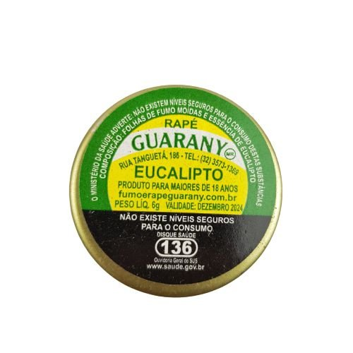 Rapé Guarany - Eucalipto