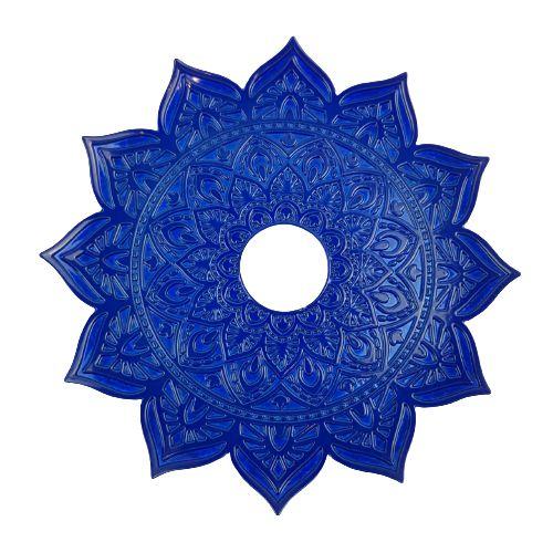 Prato Flowers - Azul Escuro