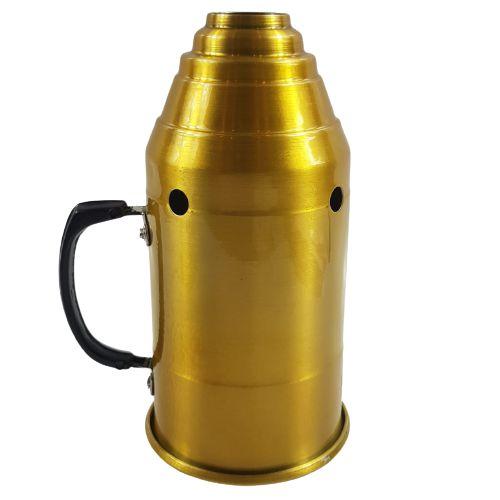 Abafador Para Narguile Vulcan - Dourado