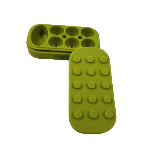 Slick Silicone Grande Silly Dog 7 Partes - Verde