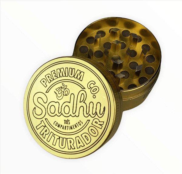 Dichavador Sadhu 3 Partes Pequeno - Dourado