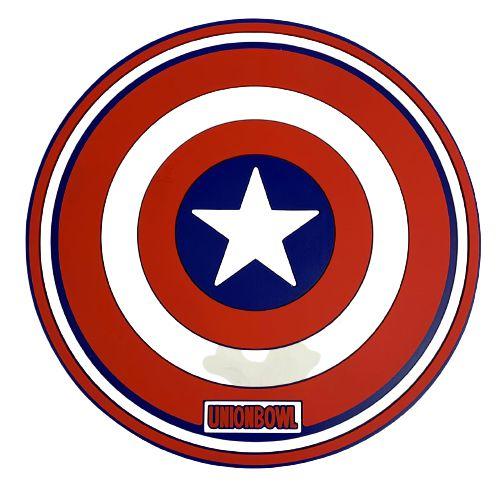 Proteção para Base / Tapete Union Bowl - Capitao America