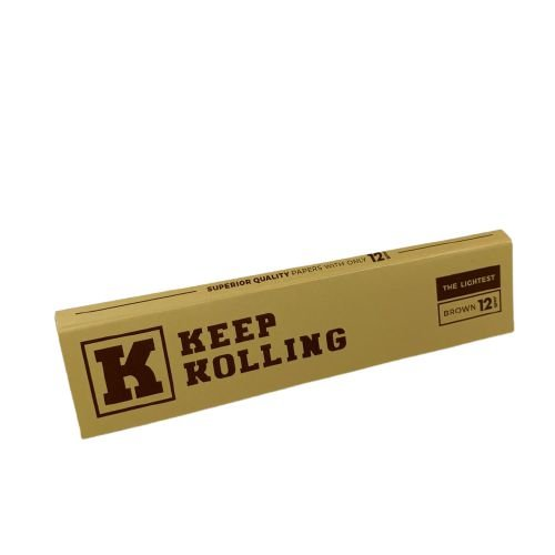 Seda Keep Rolling Brown 110mm - 33Folhas