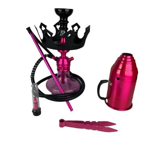 Kit Narguile Completo Triton - Rosa e Acessorios