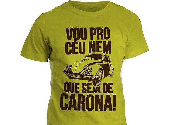 Camiseta - Vou Pro Céu