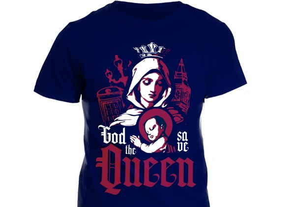 Camiseta - God Save The Queen