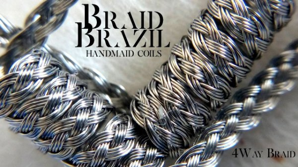 Braid Brazil Handmade Coils