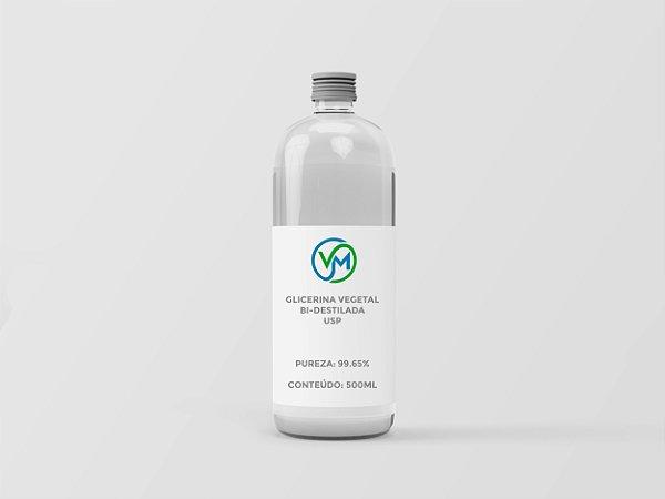Glicerina Vegetal Bi-destilada USP - 500ml