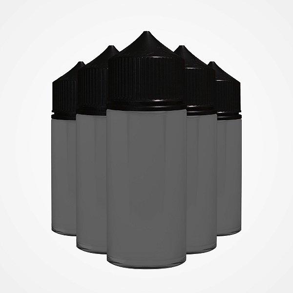 Kit Frascos 100ml - Black/Black (5 unidades)