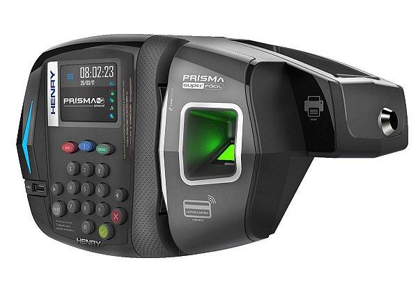 Relógio De Ponto Eletrônico Biométrico Henry Prisma