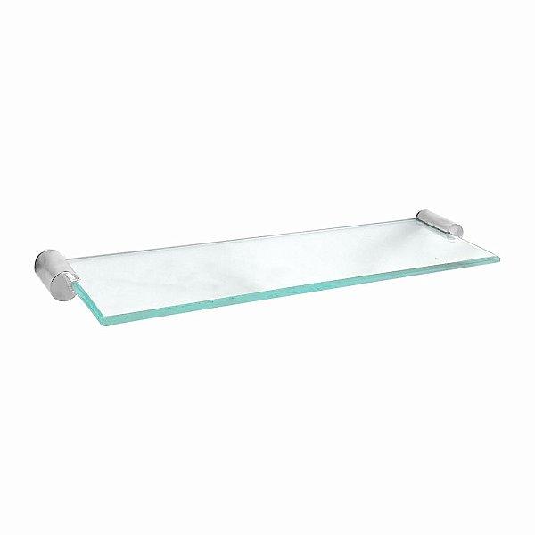 Prateleira Porta Shampoo em Vidro Retrô 209RT Grego Metal