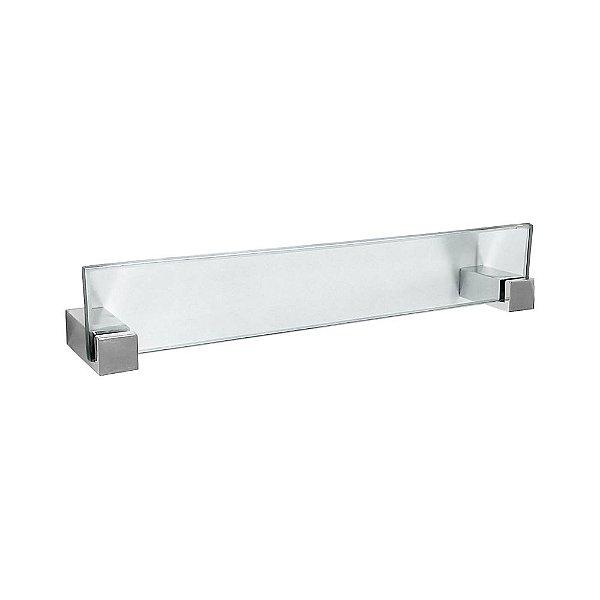Porta Toalhas Rosto em Vidro Vitralle 407VT Grego Metal