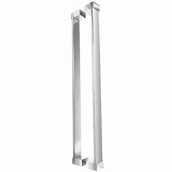 Puxador de Portas Aço Inox Alto Padrão 80 cm Deca 700DE