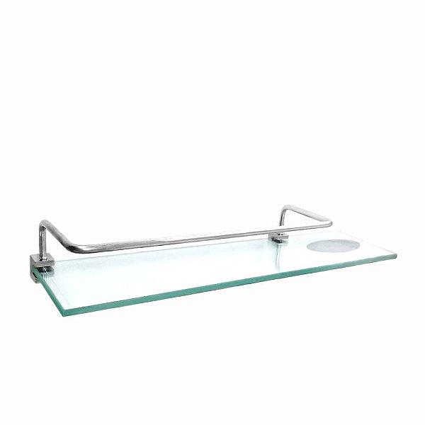 Porta Shampoo Duplo com Proteção Prátika 815PKA Grego Metal