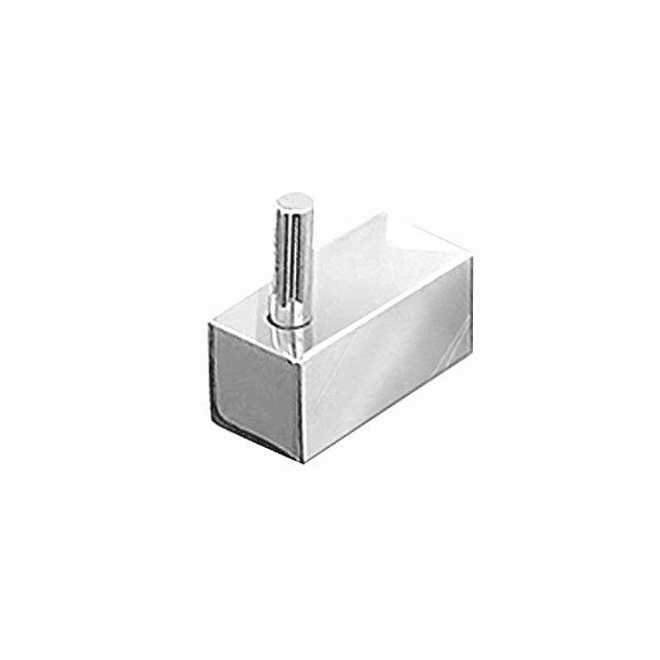 Cabide para Banheiro Metal Prátika 807PKA Grego Metal