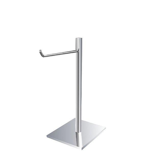 Porta Toalha de Rosto Bancada Aço Inox 321VIP Grego Metal