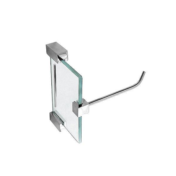 Porta Papel Higiênico Vidro Exclusive 704EX