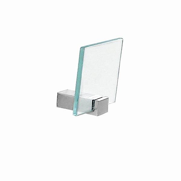 Cabide Portas Toalhas em Vidro 603CLA Grego Metal