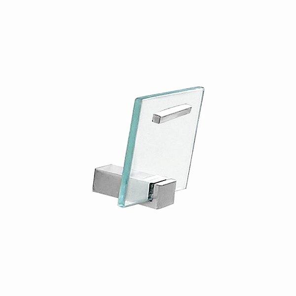 Gancho para Banheiro Vidro Exclusive 703EX Grego Metal