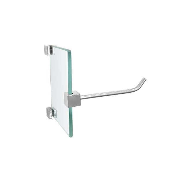 Porta Papel Higiênico Vidro Suporte de Papel Vitralle 422VTA Grego