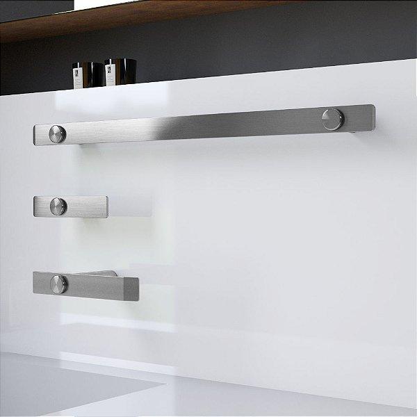 Kit Acessórios para Banheiro Aço Inox Decaluxo 100DX