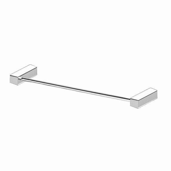 Porta Toalha Banho Aço Inox Alto Padrão 310VIP Grego Metal