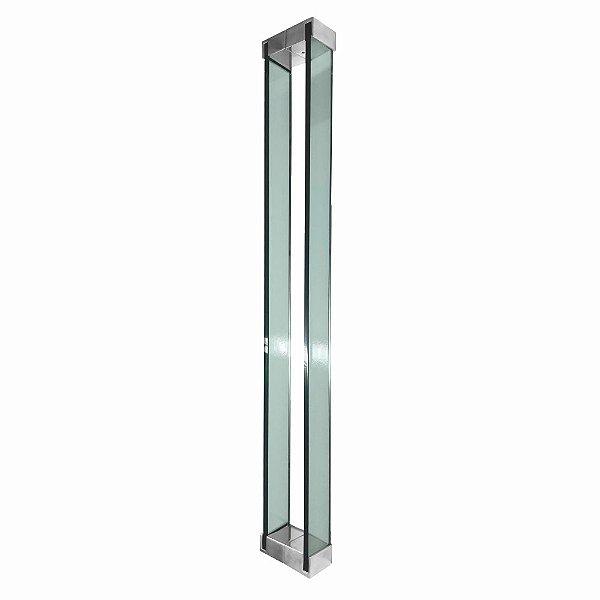 Puxador Para Portas em Vidro Verde Polido Retrô 110RTVP