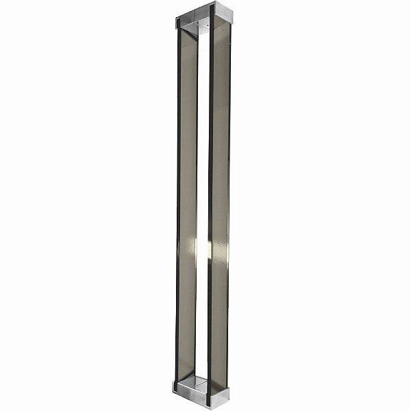 Puxador Para Portas em Vidro Bronze Polido Retrô 110RTBP